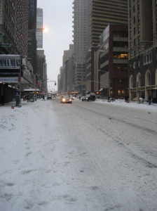 Snow on 7th Avenue